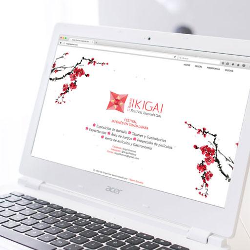 Tótem estudio portafolio cliente Ikigai WEB