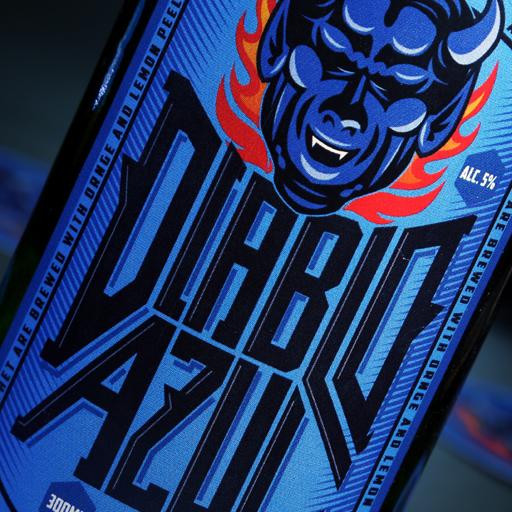 Tótem estudio portafolio cliente Diablo Azul